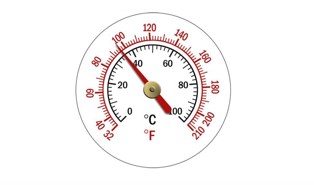 four température équivalence
