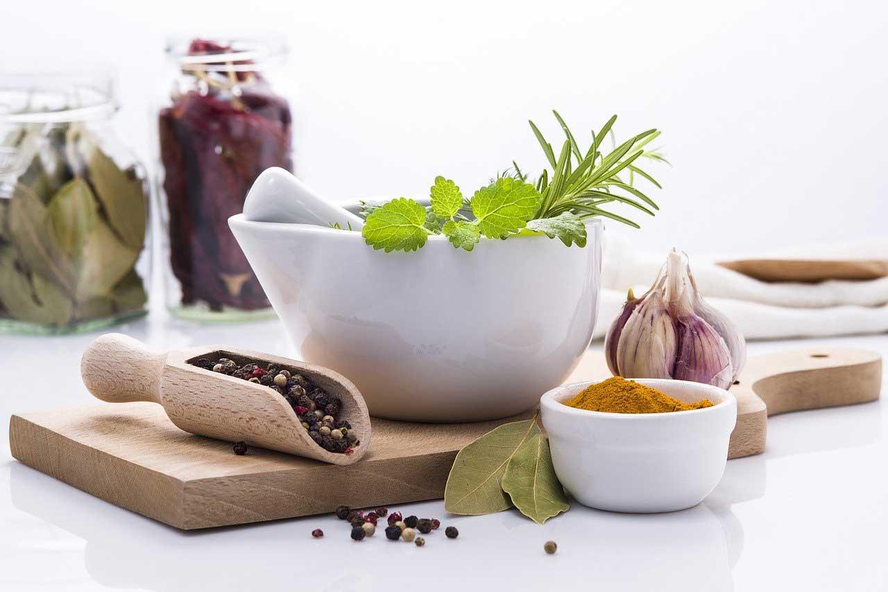 herbes-aromatiques-et-épices pour recette à la plancha