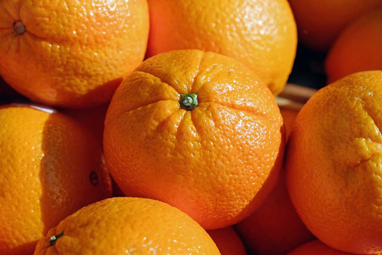 fruit de saison orange