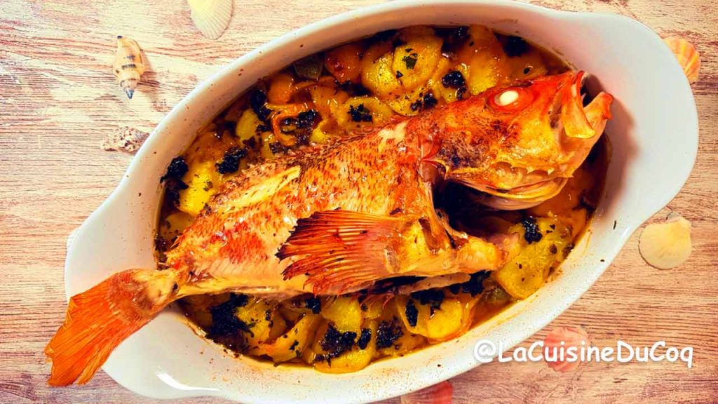 recette poisson-au-four-rascasse